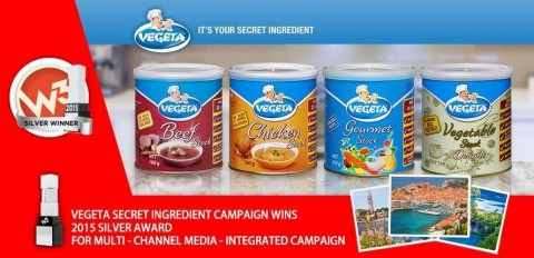 "Vegeta digital campaigne won prestigious marketing award ""W³""in Australia"